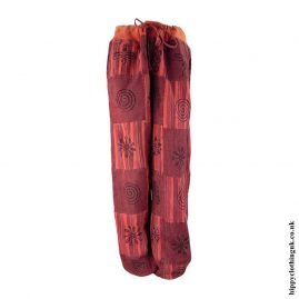 Red-Cotton-Patchwork-Hippy-Trousers