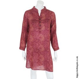 Red Paisley Tunic