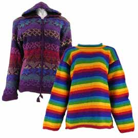 Wool Jackets and Jumpers