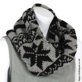 Black-&-Grey-Wool-Snood