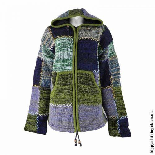 Green-Fleece-Lined-Hooded-Wool-Jacket