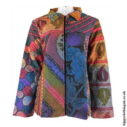 Multicoloured-Patchwork-Hippy-Jacket