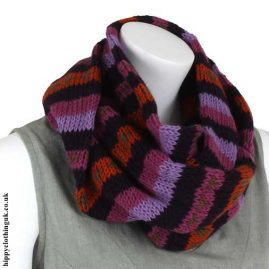 Purple-Wool-Snood