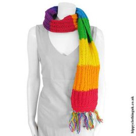 Rainbow-Wool-Hippy-Scarf