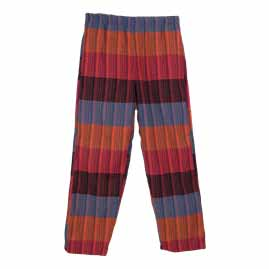 Nepalese Striped Cotton Trousers