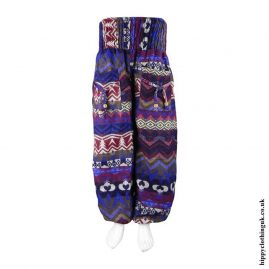 Blue-Funky-Acrylic-Hippy-Trousers