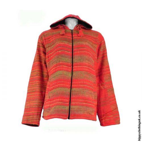 Acrylic-Wool-Cashmelon-Fleece-Lined-Hooded-Jacket1
