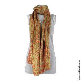 Golden-Recycled-Sari-Scarf