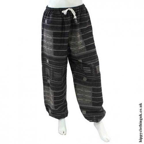 Black-Cotton-Trousers