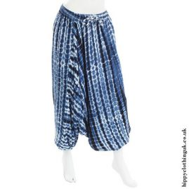 Blue-Harem-Ali-Baba-Tie-Dye-Hippy-Trousers