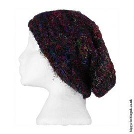 Multicoloured-Silk-Beanie-Hat