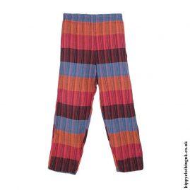 Multicoloured-Striped-Cotton-Trousers