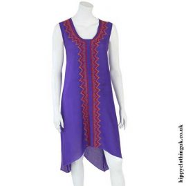 Purple-Embroidered-Long-Hippy-Dress