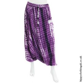 Purple-Harem-Ali-Baba-Tie-Dye-Hippy-Trousers