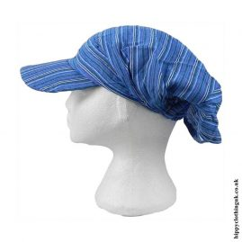 Blue-Striped-Headband-Cap