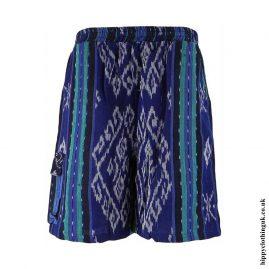 Blue-Woven-Long-Shorts