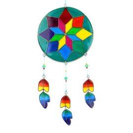 Colourful-Dreamcatcher-Style-Resin-Suncatcher