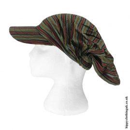Green-Striped-Cap