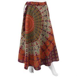 Long-Hippy-Cotton-Throw-Wrap-Skirt-Burgundy-new