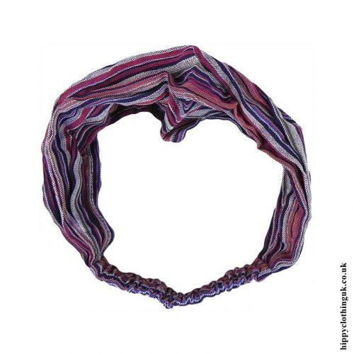 Mixed-Striped-Cotton-Headband
