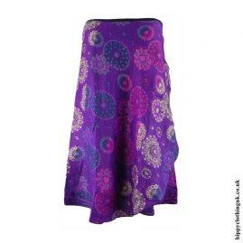 Purple-Acrylic-Wrap-Hippy-Skirt