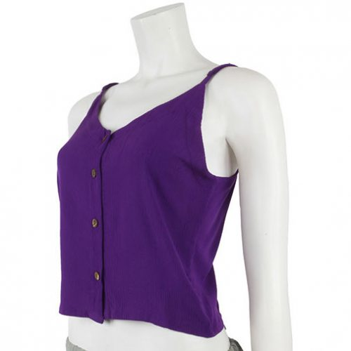 Purple-Rayon-Hippy-Crop-Top