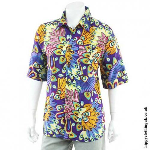Purple-Tropical-Shirt