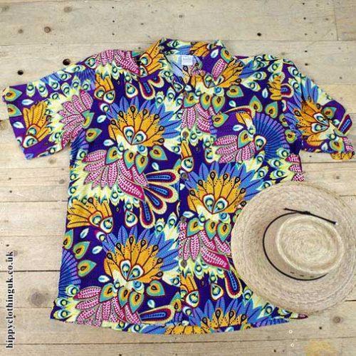 Purple-Tropical-Shirt-Flat