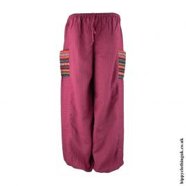 Red-Gheri-Pocket-Trousers