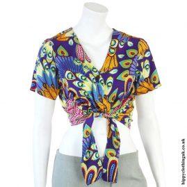 Tropical-Hippy-Tie-Crop-Top-Purple-Multicolour