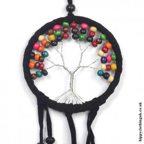 Beaded-Tree-of-Life-Dreamcatcher-Closeup