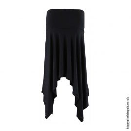 Black-Pixie-Hem-Hippy-Skirt