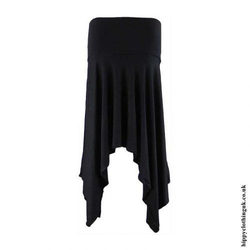 Black-Pixie-Hem-Hippy-Skirt