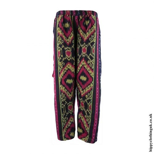 Black-Yellow-Woven-Hippy-Trousers