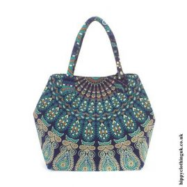 Blue-Peacock-Beach-Bag