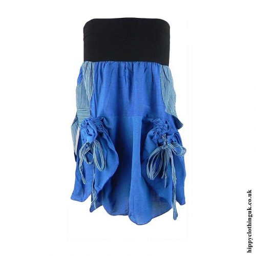 Blue-Ruffle-Skirt-Tied