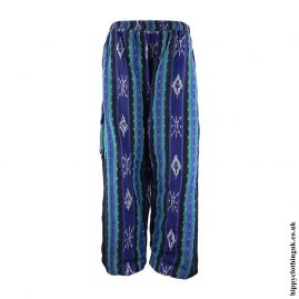 Blue-Woven-Hippy-Trousers