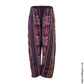 Burgundy-Woven-Hippy-Trousers