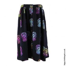Candy-Skull-Hippy-Skirt