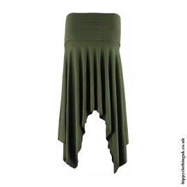 Green-Pixie-Hem-Hippy-Skirt