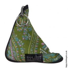 Green-Recycled-Saree-Fold-Out-Hippy-Bag