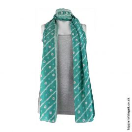Green-Recycled-Sari-Scarf