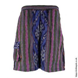 Green-Woven-Long-Shorts