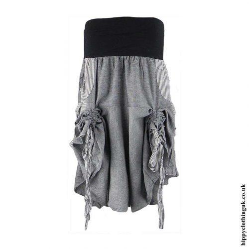 Grey-Ruffle-Skirt-Tied