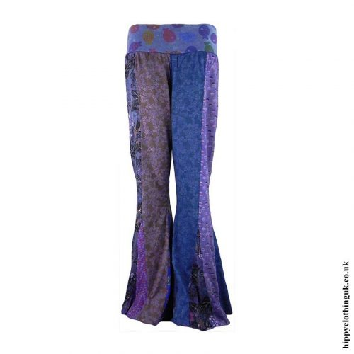 Multicoloured-Panelled-Hippy-Flares