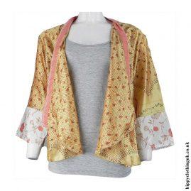 Open-Sari-Shrug-Golden