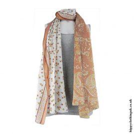 Pink-Recycled-Sari-Scarf