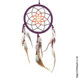 Purple-Beaded-Flower-Dreamcatcher
