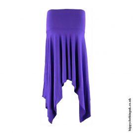 Purple-Pixie-Hem-Hippy-Skirt