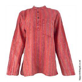 Red-Striped-Grandad-Shirt